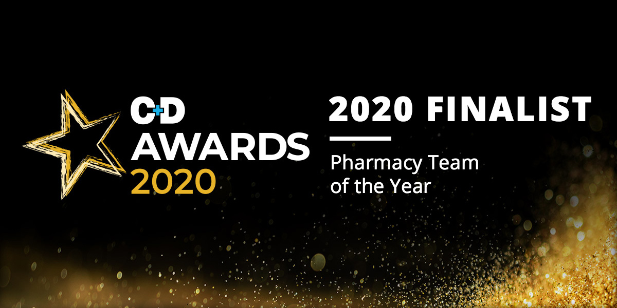 C+D Awards 2020 Finalist - Pharmacy Team of the Year