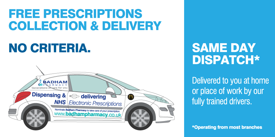 Prescriptions Collection & Delivery Service