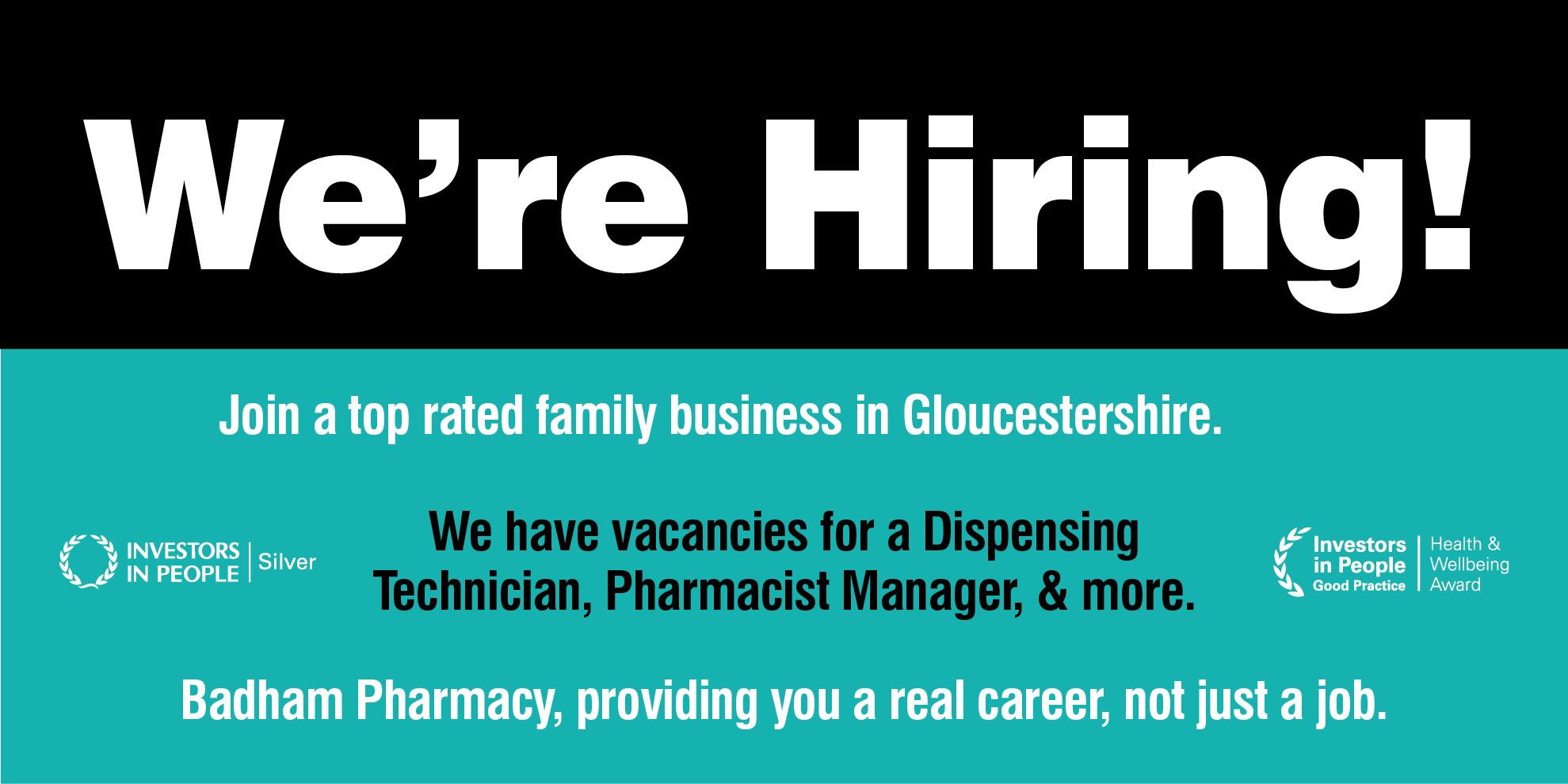 We're Hiring! Join a top rated family business in Gloucestershire. View current job vacancies…